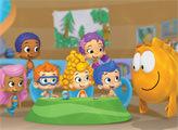 Игра Гуппи и пузырики - плиточный пазл