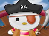 Игра Хелло Китти в пиратском костюме