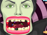 Игра Плохие зубы Малефисенты