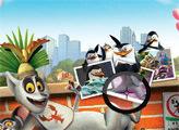 Игра Пингвины из Мадагаскара: Поиск цифр
