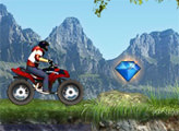 Игра Квадроцикл в горах