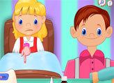 Игра Гензель и Гретель: Лечение гриппа
