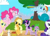 Игра Страна Пони - плиточный пазл