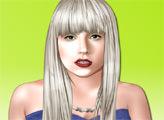 Игра Леди Гага и стильный макияж