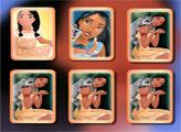 Игра Принцесса Покахонтас: Открываем пары