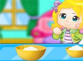 Игра Готовим с Эльзой: Ванильные кексы