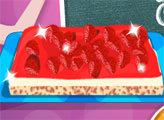 Игра Готовим с Эльзой: Клубничный торт