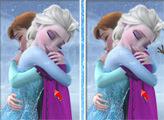 Игра Эльза и Анна: 6 отличий