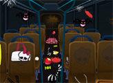 Игра Монстер Хай и грязный автобус