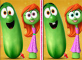 Игра Говорящие овощи: 6 отличий