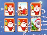 Игра Санта Клаус: Открываем пары