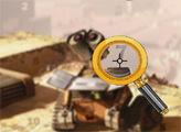 Игра Валл-И: поиск цифр