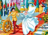 Игра Принцесса Золушка - плиточный пазл