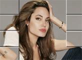 Игра Анджелина Джоли - плиточная мозаика