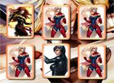 Игра Супер девочки: открываем пары