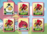 Игра Злые птички: Открываем пары