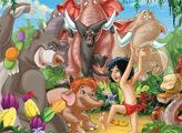 Игра Маугли и его друзья - плиточный пазл