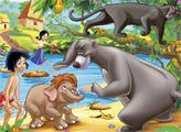 Игра Книга джунглей - плиточный пазл