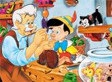 Игра Пиноккио - плиточный пазл