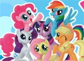 Игра Онлайн раскраска: Мой Маленький Пони