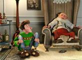 Игра Секретная служба Санта-Клауса - плиточный пазл