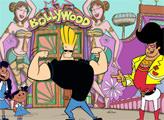 Игра Джонни Браво идет в Болливуд - плиточный пазл