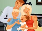 Игра Фото Счастливой семьи