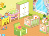 Игра Дизайн комнаты для близнецов