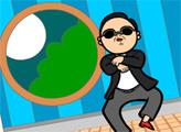Игра Онлайн раскраска: Гангам Стайл