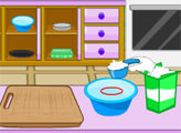 Игра Угощения Таши: клубничный торт