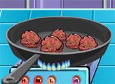 Игра Кулинарное шоу: греческие мясные шарики