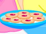 Игра Угощения Таши: печенье с малиновым джемом