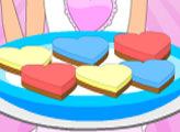 Игра Вкусные рецепты Дженни: сердечный чизкейк