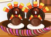 Игра Кулинарное безумие: Индейка в День Благодарения