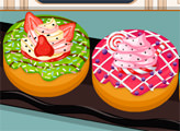 Игра Кулинарное безумие: домашние пончики