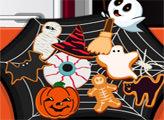 Игра Кулинарное безумие: печенье для Хэллоуина