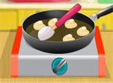 Игра Простая кухня: Яблочные оладьи
