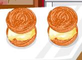 Игра Кулинарное безумие: мороженое-сандвич