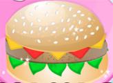 Игра Кулинарные тренды: Торт Гамбургер