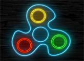 Игра Неоновый Фиджет-спиннер онлайн
