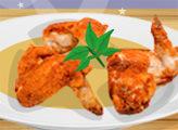 Игра Простая кухня: Куриные Крылышки Баффало