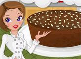 Игра Кухня Ханны: Абрикосовый торт с какао