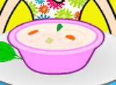 Игра Кухня Кайри: весенний суп