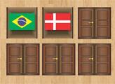 Игра Открываем одинаковые флаги