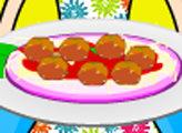 Игра Кухня Кайри: Спагетти с фрикадельками
