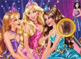 Игра Барби: Академия принцесс - поиск цифр
