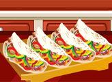 Игра Кулинарное безумие: фахитас с курицей