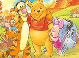 Игра Винни Пух и его друзья - плиточный пазл