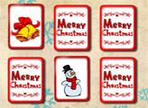 Игра Счастливого Рождества: Открываем пары
