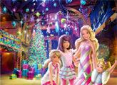 Игра Барби: Чудесное Рождество - плиточный пазл